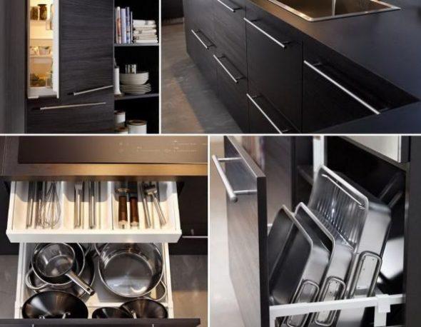 Все под рукой: правильное наполнение для кухонных шкафов