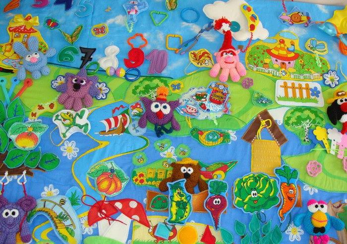 развивающий коврик для детей дизайн