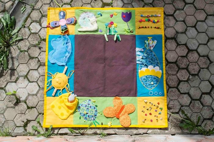 развивающий коврик для детей фото идеи