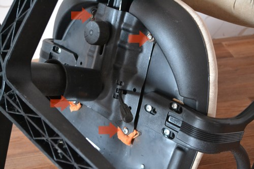 ремонт кресла фото