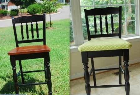 реставрация деревянного стула своими руками меняем вид стула