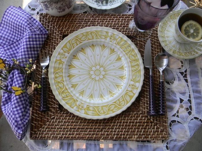 салфетки подложки под тарелки