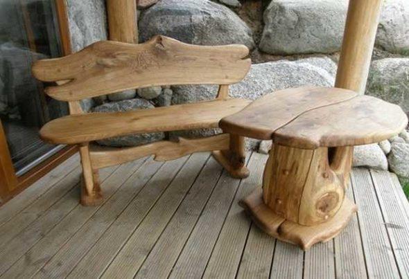Самодельная мебель из дерева