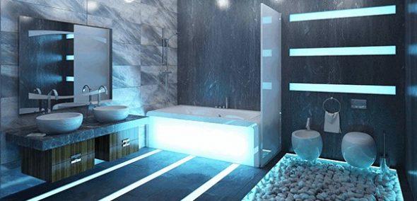 Сантехника для ванной комнаты в современном стиле