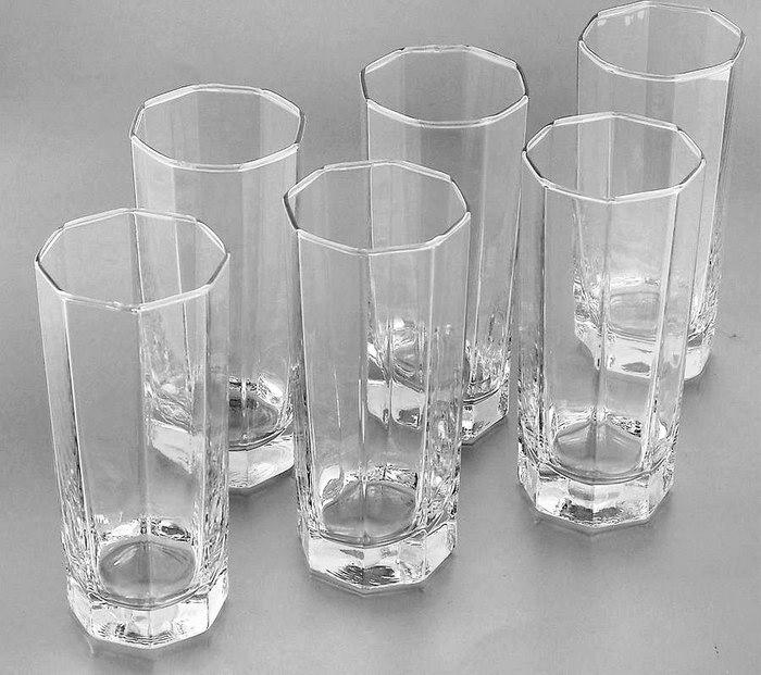 шестигранные стаканы