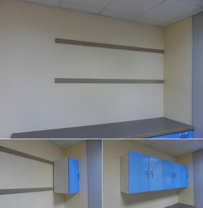 шкафы на стене из гипсокартона