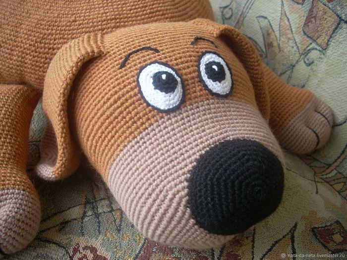 собака подушка как связать