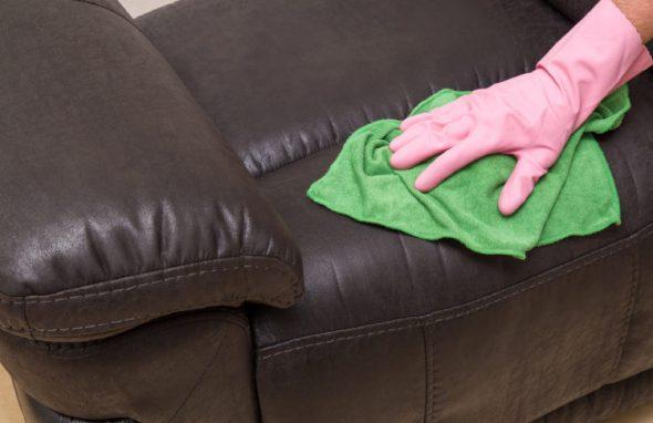 почистить диван йодом