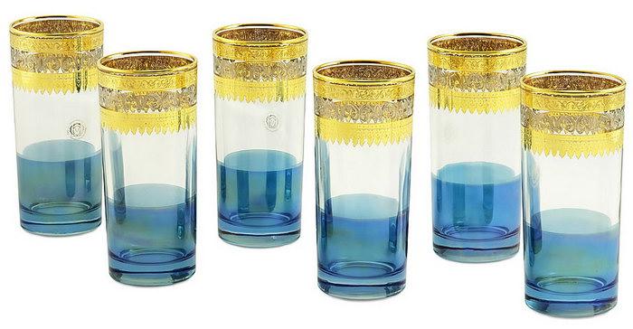 стаканы для воды и сока