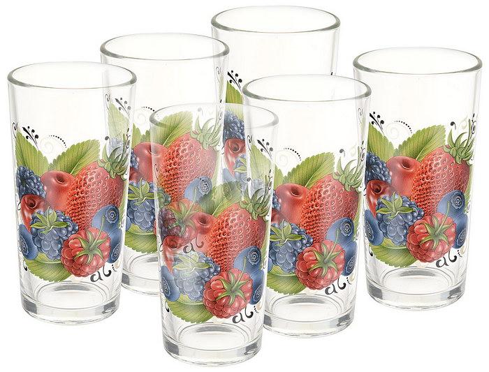 стаканы ягоды