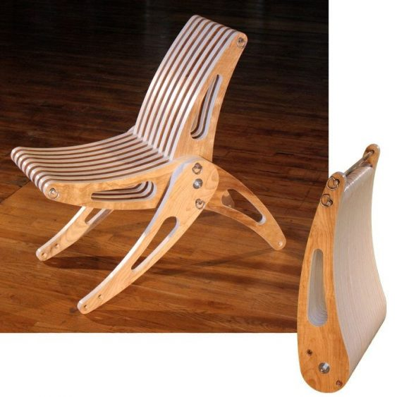 стул Из листа фанеры