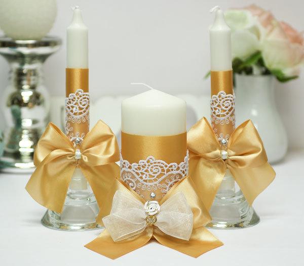 свадебные свечи декор идеи