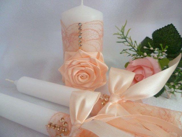 свадебные свечи варианты