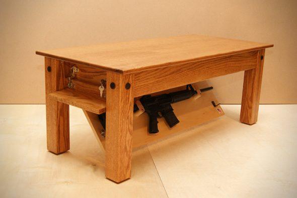 Тайник в столе