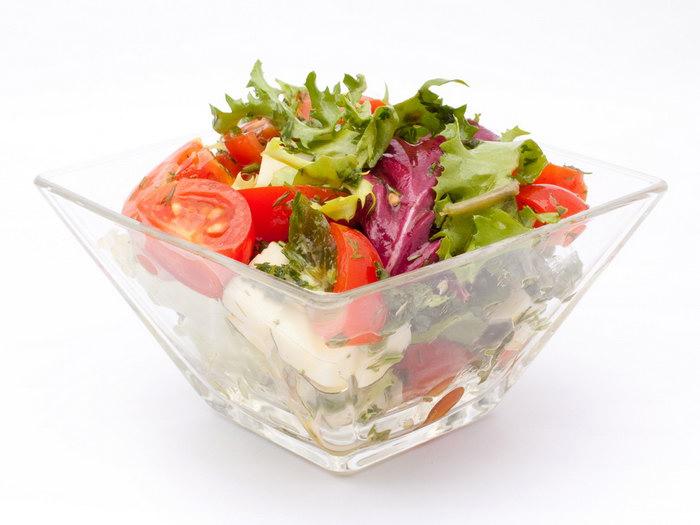 трапециевидный салатник
