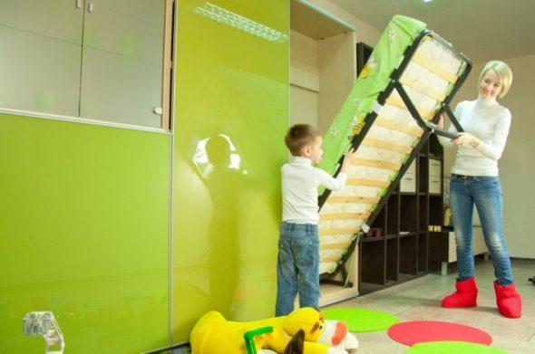удобная и безопасная кровать для ребенка