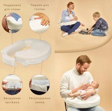 Удобная ортопедическая подушка