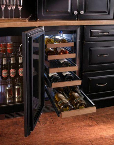 Удобный винный шкаф