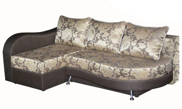 угловой диван-кровать Клеопатра