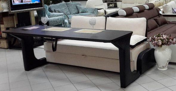 уютный диван трансформер