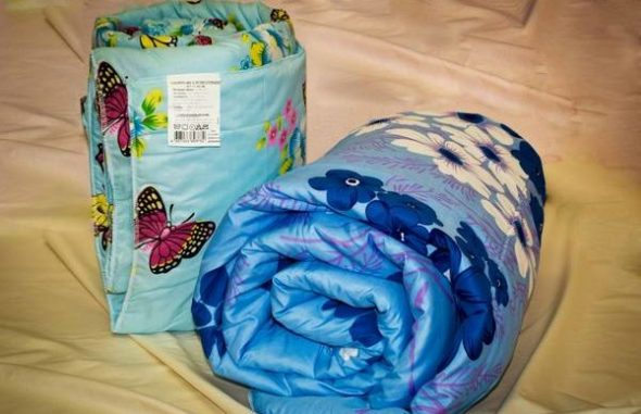 Проверьте этикетку одеяла