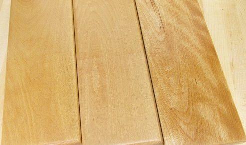 Покрытие одной породы дерева разными составами
