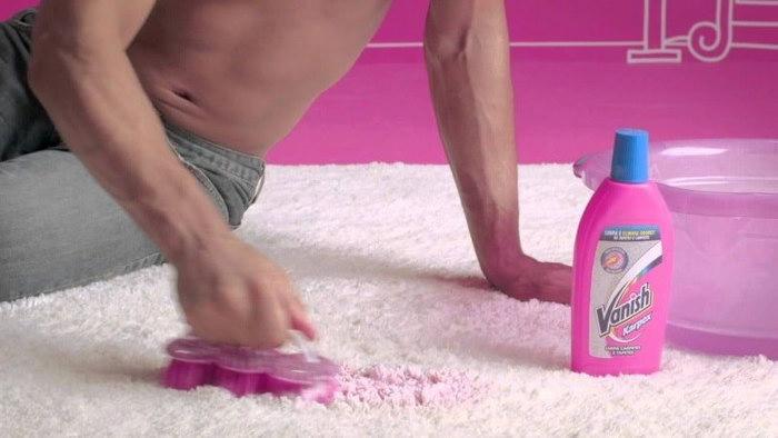 ваниш для ковров чистка