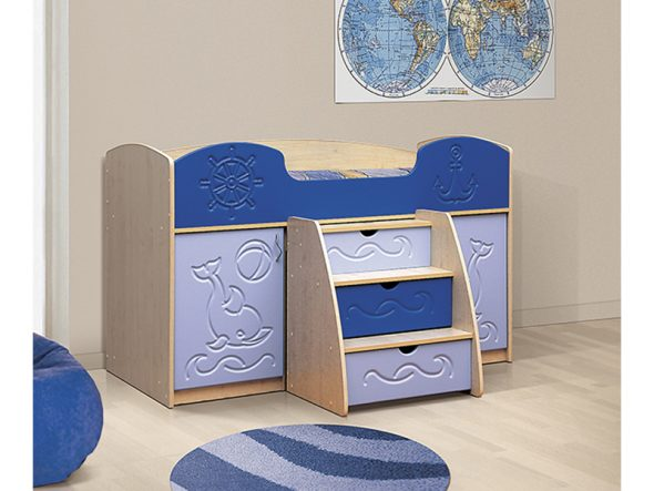 Вариант компактной и многофункциональной мебели из МДФ