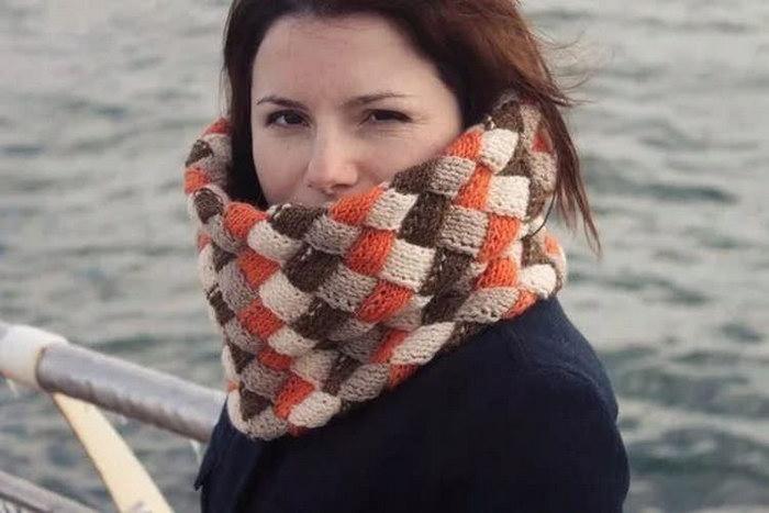 шарф-труба на шею