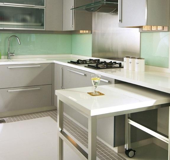выдвижной стол для небольшой кухни