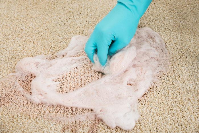 чистка мылом