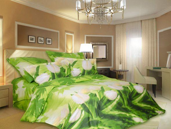 Яркий постельный комплект